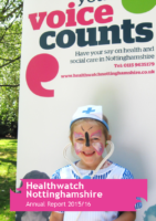 Healthwatch Nottinghamshire – Annual Report 2015-16