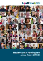 Healthwatch Nottingham – Annual Report 2016-17