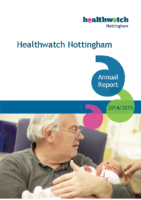 Healthwatch Nottingham – Annual Report 2014-15