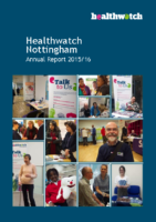 Healthwatch Nottingham – Annual Report 2015-16