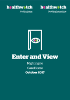Enter and View Report – October 2017 – Nightingale Care Home