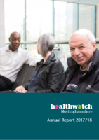 Healthwatch Nottinghamshire – Annual Report 2017-18