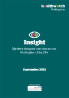 GP Mystery shopper exercise