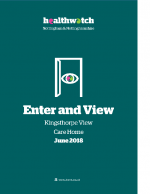 Enter and View Report – June 2018 – Kingsthorpe View Care Home