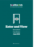 Enter and View Report – June 2018 – Stoneyford Care Home